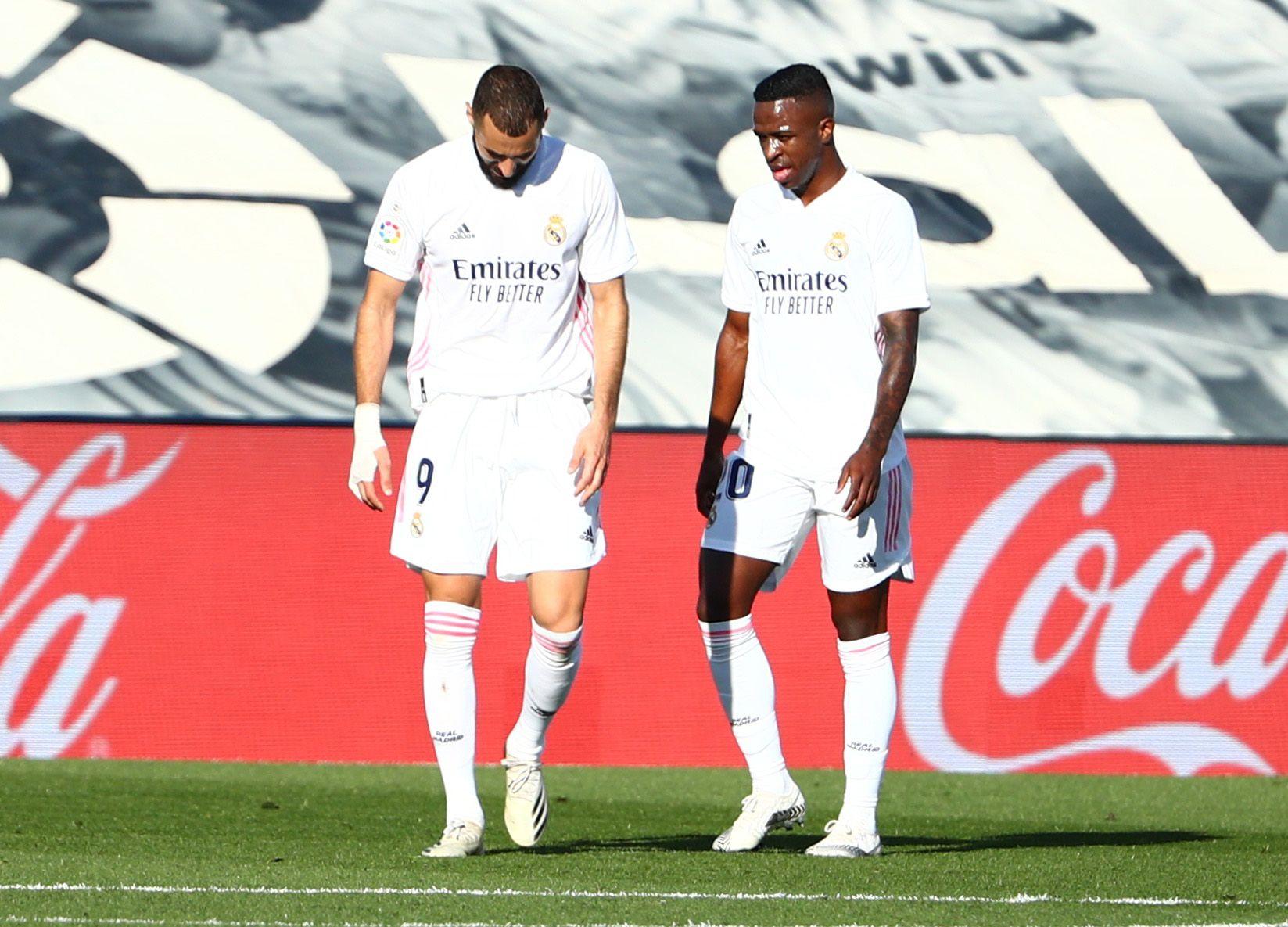 La imagen más buscada: Benzema y Vinicius Júnior juntos en Real Madrid (REUTERS/Javier Barbancho)