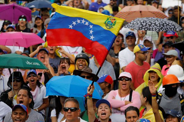 """Desde hace cuatro meses los venezolanos salen a las calles para decir """"no a la Constituyente""""(REUTERS)"""