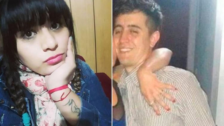 Cinthia Choque y Santiago Siciliano, los dos agentes atropellados durante un control de alcoholemia. La joven falleció y su compañero se encuentra internado en grave estado.