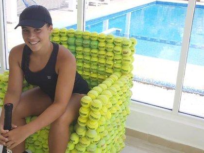 """La joven de ahora 15 años decidió dedicar sus horas """"libres"""" al deporte blanco (Foto: Cortesía/ Gala Arangio)"""