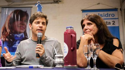 Axel Kicillfo y Teresa García