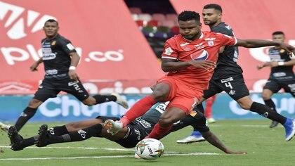 América superó por mínima diferencia al Deportivo Pereira, pero no ingresa a los ocho. Cortesía Dimayor Vizzor Images