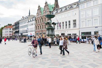Copenhague, capital de Dinamarca (Shutterstock)