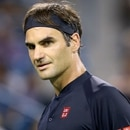 MASON, OH - AUGUST 17: Roger Federer of Switzerland looks on against Stan Wawrinka of Switzerland during Day 7 of the Western and Southern Open at the Lindner Family Tennis Center on August 17, 2018 in Mason, Ohio. Rob Carr/Getty Images/AFP