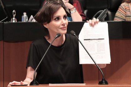 La senadora Lilly Téllez compartió su propuesta por redes sociales (Foto: Twitter/LillyTellez)