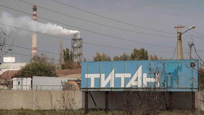 La planta química Crimea Titan (Reuters)