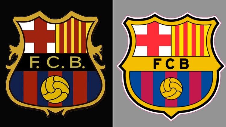 El Barcelona presentó el que podría ser su nuevo escudo  las siete ... 77f352487fe