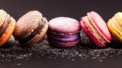 Los macarons, una delicia de la pastelería francesa (Getty Images)