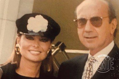 Hugo López y Lucía Miranda. (Foto: Archivo tlántida)