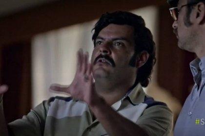 El actor Federico Rivera le da vida al capo del Cartel de Medellín, Pablo Emilio Escobar Gaviria, en la serie El General Naranjo