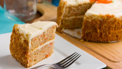 Carrot cake un clásico de tortas en todos los los brunch