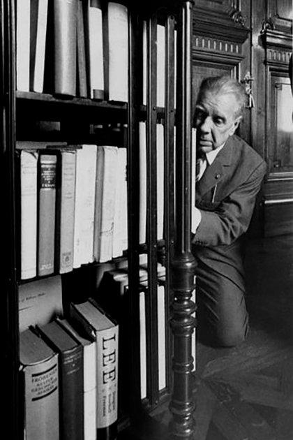 Borges (Foto de Sara Facio)