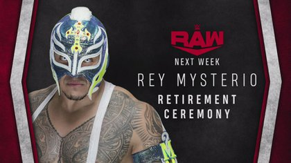 La WWE anunció ceremonia de retiro de Rey Misterio (Foto: Twitter@wweespanol)