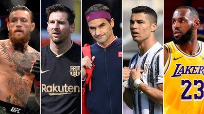 Quién es deportista mejor pagado del mundo