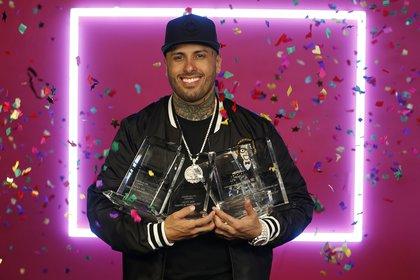 """Nicky Jam ha ganado numerosos premios como el Grammy Latino en 2015 como mejor interpretación urbana por su éxito """"El perdón"""", en colaboración con Enrique Iglesias"""