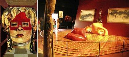 Mae West, según Dalí