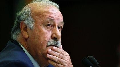 Vicente Del Bosque fue el entrenador que tomó el legado de Luis Aragonés (Reuters)