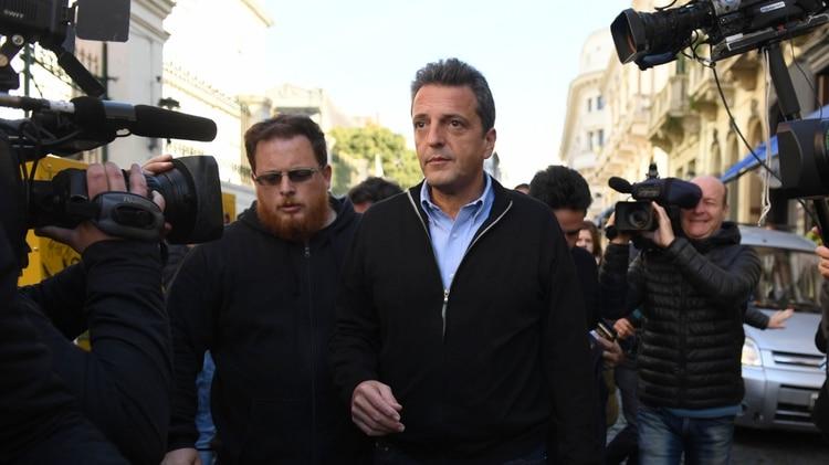Sergio Massa propuso ayudar a los precandidatos donde el Frente es opositor (Maximiliano Luna)