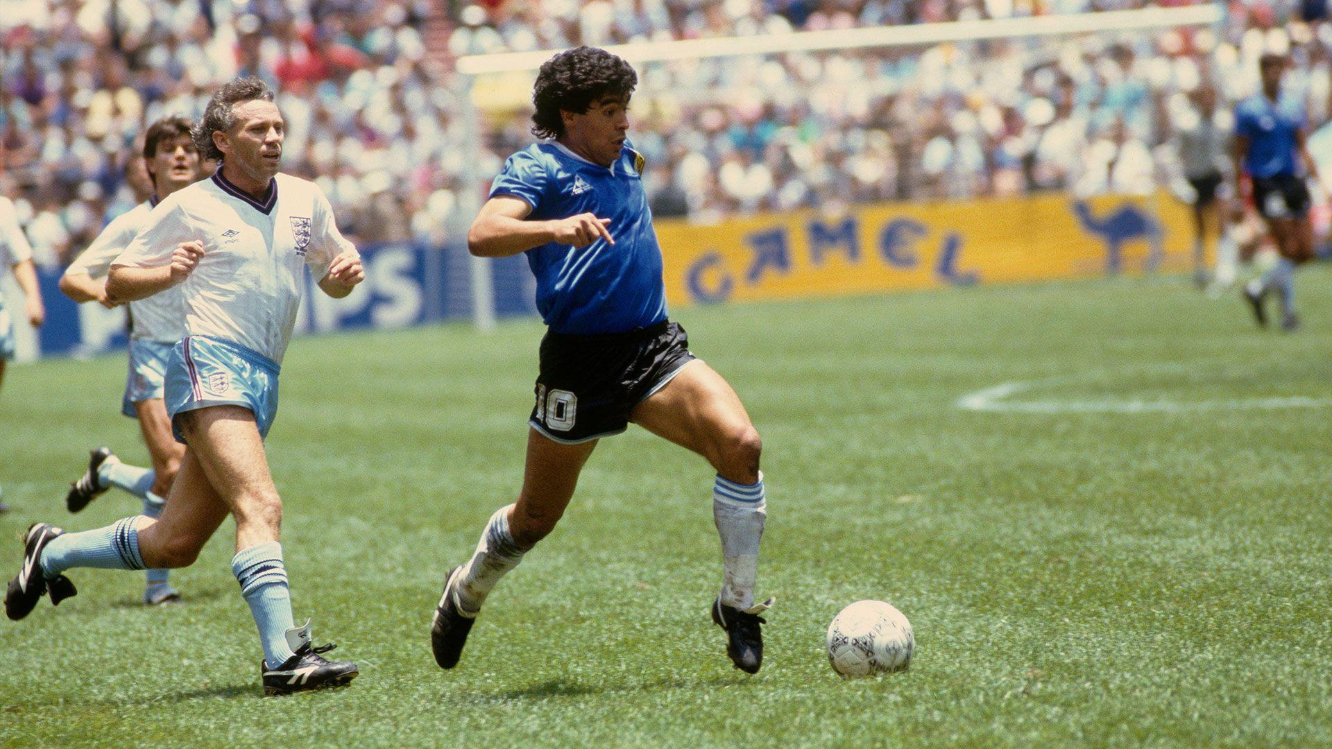 ARGENTINA - INGLATERRA 1986