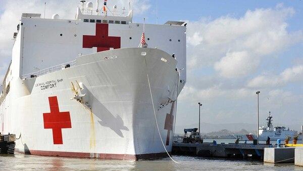 El buque hospital USS Comfort vendrá a la región a realizar tareas humanitarias con especial foco en la crisis venezolana. Foto: Gentileza Comando Sur.