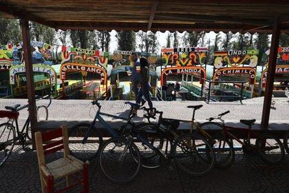 El Xochimilco la prohibición entró en vigor desde el 24 de abril (Foto: AP/Eduardo Verdugo)