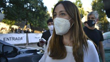 María Eugenia Vidal también acudió al encuentro de la mesa nacional de JxC (Gustavo Gavotti)