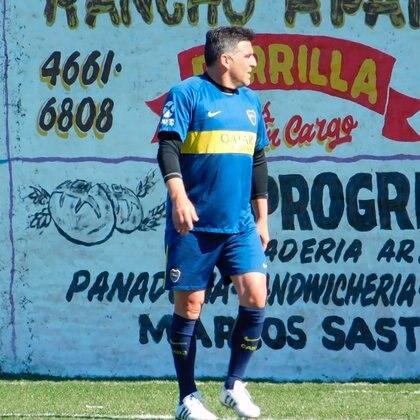 """Daniel Tilger se desempeña como delantero en el equipo Senior de Boca: """"Trato de hacer los goles que no pude hacer en Primera"""""""