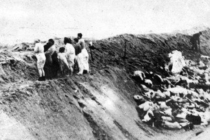"""El horror de Babi Yar: a 75 años del """"Holocausto de Plomo"""" - Infobae"""