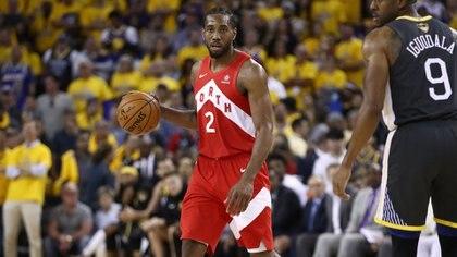 Kawhi Leonard, la estrella de Toronto Raptors, cierra el Top 70 (AFP)