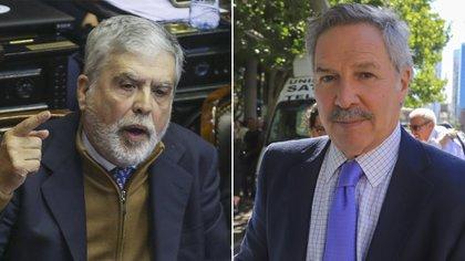 En un nuevo contrapunto contra funcionarios del Gabinete, Julio de Vido cargó contra el canciller Felipe Solá por negar la existencia de presos políticos