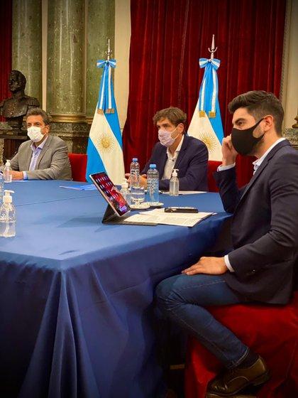 Sergio Massa dio el visto bueno para que Facundo Moyano impulse el tratamiento de la norma en la Comisión de Transporte