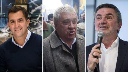 Christian Gribaudo, Jorge Ameal y José Beraldi, los candidatos más fuertes en Boca