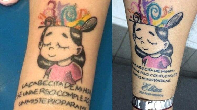 El Tatuaje En Honor A Su Hija Con Autismo Que Conmovió A Twitter Y