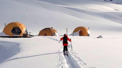 El Azufre es el nombre del primer centro de esquí 100% autosustentable del mundo