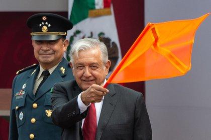 El aeropuerto de Santa Lucía es uno de los proyectos insignia de la administración de López Obrador (Foto: Pedro Pardo / AFP)