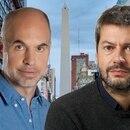 Horacio Rodríguez Larreta y Matías Lammens, los dos principales candidatos en la ciudad de Buenos Aires