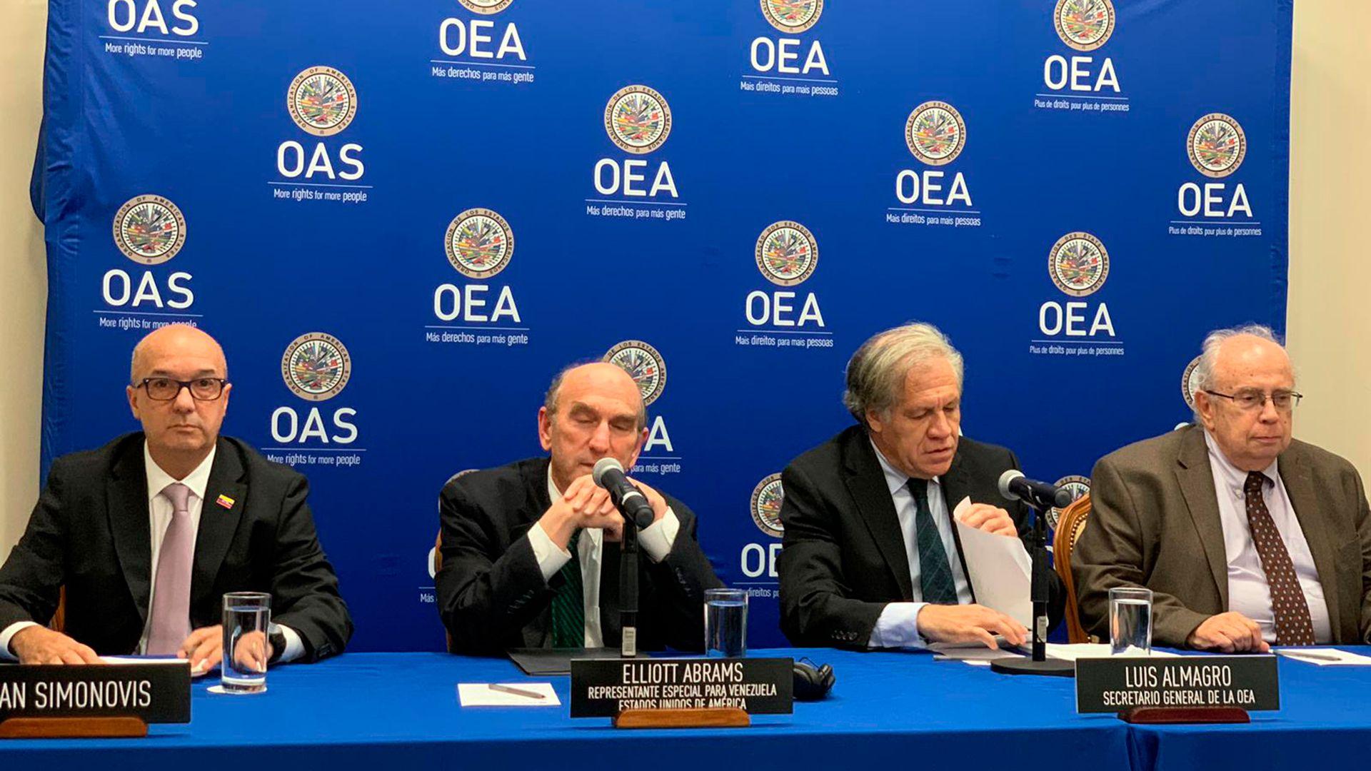 La OEA denunció los crímenes de lesa humanidad de la dictadura de Nicolás Maduro