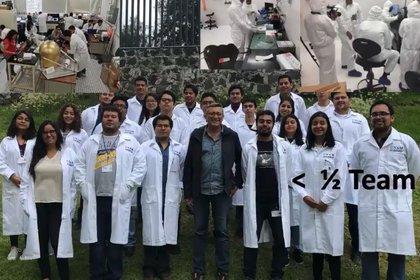 Gustavo Medina señaló que el diseño del proyecto COLMENA lo están preparando los alumnos de Casa Máxima de Estudos de Fotografia: Cortesía UNAM