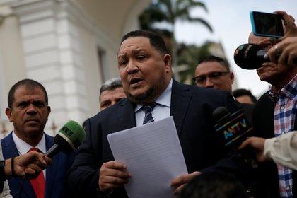 José Brito pidió la comparecencia de las esposas de los líderes opositores (REUTERS/Manaure Quintero)