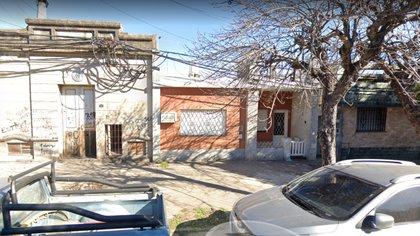 La casa de la calle Florida 215 de Rosario donde el perro estaba abandonado en la terraza (Google Maps)
