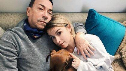 """""""Mi papá está muy bien de salud"""", dijo Sofía Pachano respecto a su padre, Aníbal Pachano, quien en enero de este año se contagió de coronavirus (Foto: Instagram @sofipachano)"""