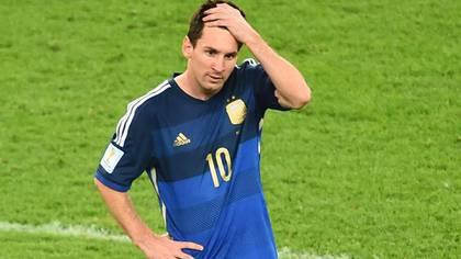 Lionel Messi arrastraba molestias físicas en la previa al duelo con Nigeria (NA)