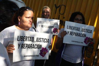 Manifestación en El Salvador (EFE)