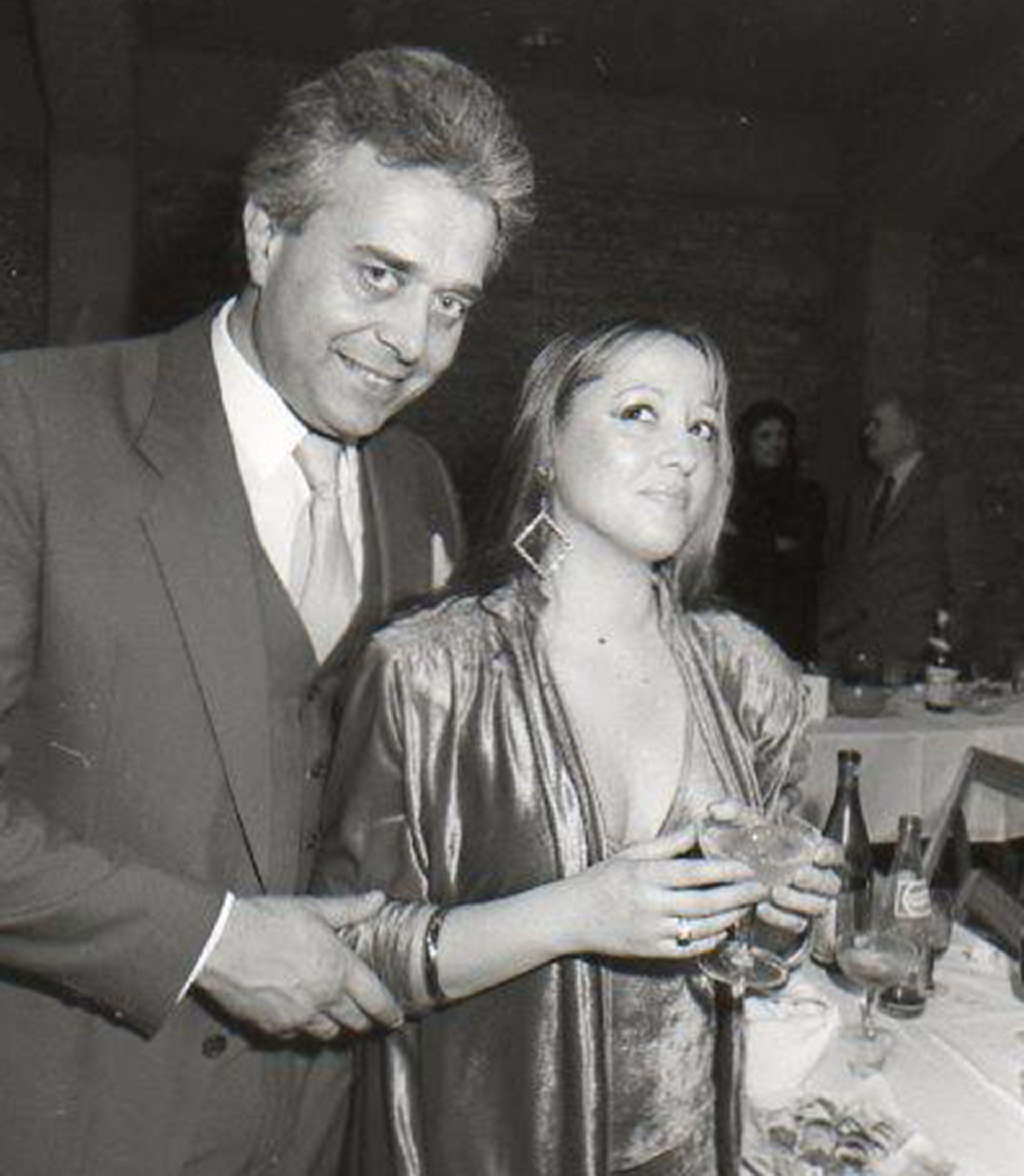 Sergio Velasco Ferrero Junto a María Zorzenón, en los años 80