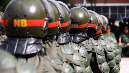 La Guardia Nacional Boliviariana es uno de los cinco componentes que conforman la Fuerza Armada Nacional Bolivariana