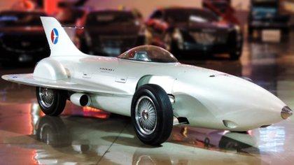 El Firebird I, en el Museo de GM: más cercano a un cohete que a un vehículo.