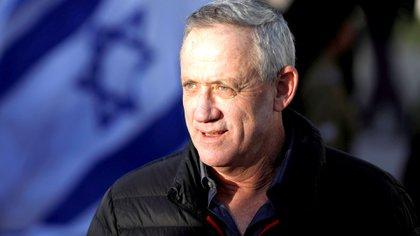 El ex general israelí Benny Gantz, líder del partido Azul-Blanco (Reuters)