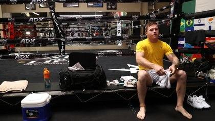 """El optimismo de """"Canelo"""" Álvarez previo a la pelea contra Billy Joe Saunders: así hablo el boxeador sobre su estado físico"""