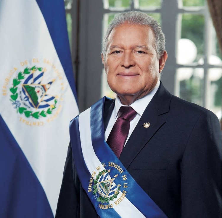 Salvador Sánchez Cerén, presidente saliente de El Salvador