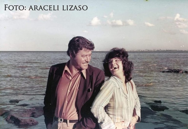Guy Williams y Araceli Lisazo